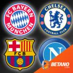 👑 *Bayern - Chelsea* Betano Sportwetten: 25€ BestChoice-Gutschein für 20€ Einsatz (Neukunden)