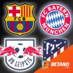 👑 *Barca - Bayern* Betano Sportwetten: 25€ BestChoice-Gutschein für 20€ Einsatz (Neukunden)