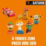 Saturn: Tonies 4-für-3-Aktion: 4 Tonie-Figuren kaufen, nur 3 bezahlen