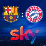 *100€ Bonus nur noch heute!* Sky Q ab 12,50€/Monat + Barca vs. Bayern + nur 12 Monate MVLZ + 0,00€ Aktivierungsgebühr