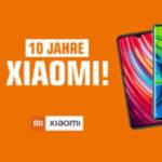 MediaMarkt/Saturn: 10% Rabatt auf ausgewählte Xiaomi Smartphones