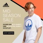 adidas Mid Season Sale: 30% Rabatt auf Vollpreis-Artikel, 15% Extra-Rabatt im Sale