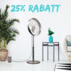 Rabatt-Ventilator