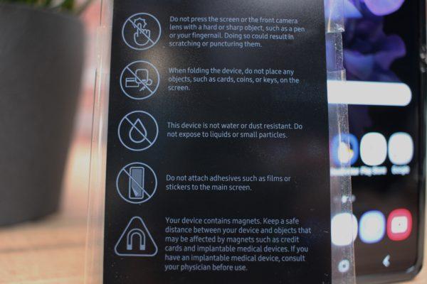 Samsung_Galaxy_Z_Flip_Warnungen