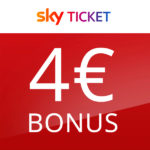 4€ Amazon.de-Gutschein* für Sky Ticket - z.B. Sky Supersport für 29,99€ - Bundesliga live