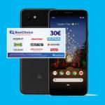 *30€ Bonus* 5GB LTE Allnet für 11,99€ mtl. + Google Pixel 3a (oder Xiaomi Redmi Note 8T für 10,49€ mtl.) - Curved/Blau (o2-Netz)