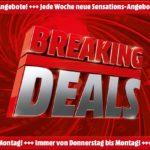 🔴 MediaMarkt Breaking Deals - z.B. Huawei MediaPad M5 lite WiFi Tablet für 154,74€ (statt 184€)