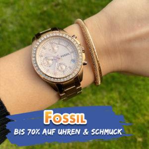 Fossil Uhren & Schmuck: Bis zu 70% Rabatt im Flash-Sale