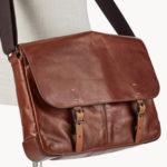 Fossil Flash-Sale mit Taschen & Geldbörsen, z.B. Herren Messenger für 149,50€ (statt 197€)