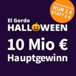 🍀 Lottohelden: El Gordo Halloween-Lotterie 🎃 Lose ab 1€ mit 65 Mio. € Gesamtgewinn (Neukunden-Aktion)