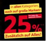 XXXLutz: 25% Rabatt auf fast alles + 25% Extra auf Wohnaccessoires