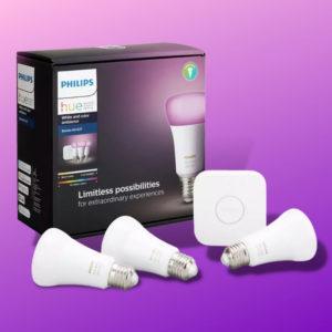 PHILIPS_Hue_White__Col._Amb._E27_Starter_Set_Bluetooth_LED_Leuchtmittel_RGB_Thumb