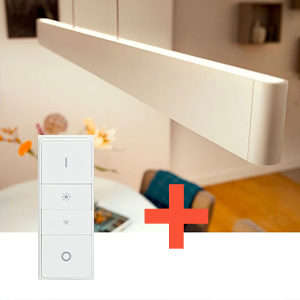 Philips-Pendelleuchte-und-Schalter