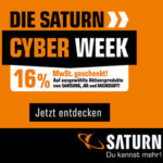 Saturn Cyber Week - z.B. Gaming Notebooks, Samsung Galaxy A41 uvm.