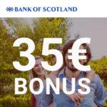 ⏰ HOT - ENDET HEUTE! 🔥 Bank of Scotland Tagesgeld + 35€ Bonus + 0,5% p.a. Zinsen (keine Schufa!)