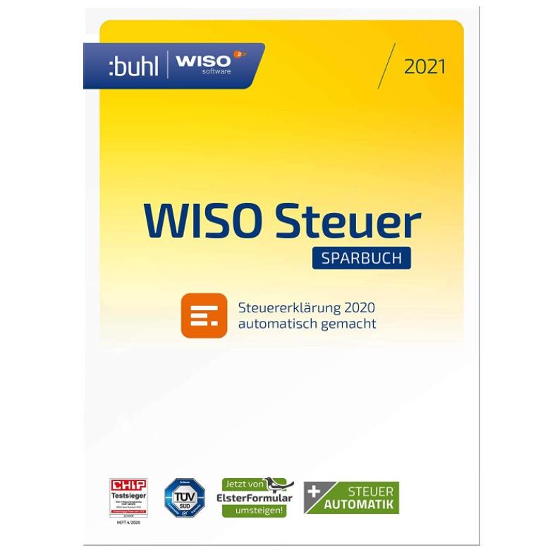 📝 WISO Steuer-Sparbuch 2021 fürs Steuerjahr 202
