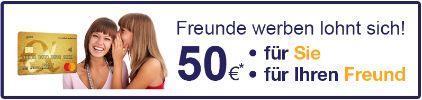 advanzia 50 euro kwk freunde werben