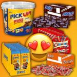 🍫 Amazon: Süßwaren en masse 🤤 z.B. reis-fit Risbellis Reis Cracker für 0,89€ pro Tüte 🌾
