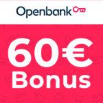40€ Startguthaben + 20€ Bonus für gebührenfreies Openbank Girokonto - limitiert auf 2.000 Abschlüsse!