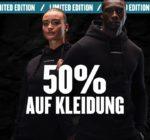 MyProtein: 50% Rabatt auf Kleidung - nur bis Mitternacht!