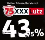 XXXLutz:  43,75% Rabatt in allen Möbelkategorien
