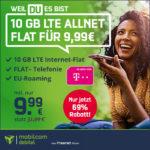 *Telekom-Knaller bis 21.09., 18 Uhr!* 💥 10GB LTE Allnet für nur 9,99€/Monat (md Telekom green LTE Deal)