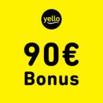 Yello Strom: 90€ BestChoice-Gutschein für euren Vertrag ab 12 Monaten