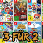 🕹 Saturn / Amazon: 3 Spiele kaufen - 2 bezahlen - Nintendo Switch (Super Mario, Animal Crossing, Pokémon uvm.)