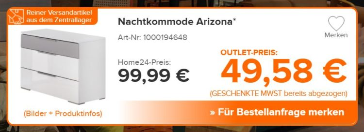 home24 outlet kommode