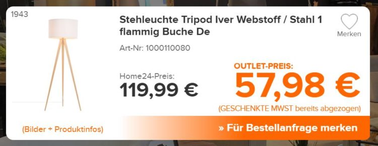 home24 outlet leuchte
