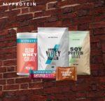 Myprotein: 45% auf Proteine + 42% Extra-Rabatt auf Bestseller - Protein Cookies, Whey, FlavDrops u.v.m.