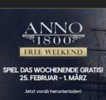GRATIS: *Anno 1800* - jetzt downloaden und vom 25.02 - 01.03. zocken (Ubisoft + Epic-Games-Store)