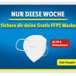 😷 GRATIS: FFP2 Maske über die LIDL-App (ab 20€ Einkauf)