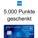 *Doppelte Punkte* Kostenlose Payback AMEX Kreditkarte + 50€ geschenkt (= 5.000 Punkte)
