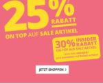 20% bzw. 30% auf Sale Artikel bei Peek & Cloppenburg*