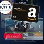 🍿 Endet bald: 4€ Gewinn beim Streamen: 3 Monate freenet Video für 0,99€ + 5€ BestChoice-/Amazon.de-Gutschein (inkl. Tenet von Christopher Nolan)