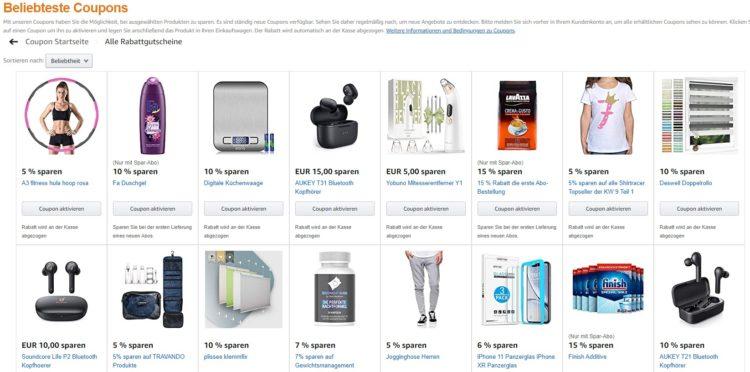 Amazon.de_Coupons
