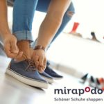 Mirapodo: 20% Rabatt im Shop / 25% Rabatt in der App auf Schuhe