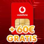 *Nur noch heute!* 💥 GRATIS Vodafone SIM-Karte + 60€ Startguthaben geschenkt (3 Monate 10GB LTE Allnet kostenlos - CallYa Prepaid)
