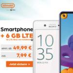 🔥 6GB LTE Vodafone Allnet für 7,99€/Monat + Handy von Xiaomi / Samsung / Sony / OnePlus + 50€ RNP-Bonus  (allmobil powered by otelo)