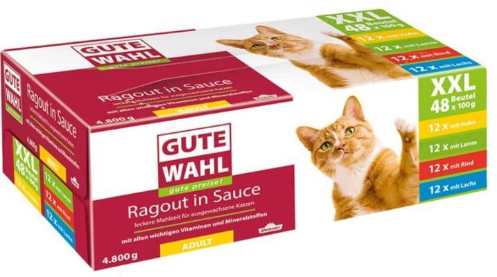 Dehner Gute Wahl Katzenfutter