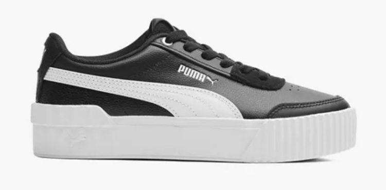 Puma Sneaker CARINA LIFT in schwarz