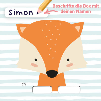 Toniebox Sticker Fuchs