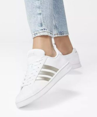 adidas Sneaker GRAND COURT BASE in weiss