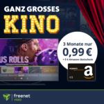🍿 Jesus Rolls, Capone, Cortex uvm. mit eff. Gewinn von 4€ schauen! (dank 5€ Amazon-Gutschein) - freenet Video