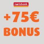 🔥 Bestes kostenloses Girokonto? 75€ Prämie bei norisbank