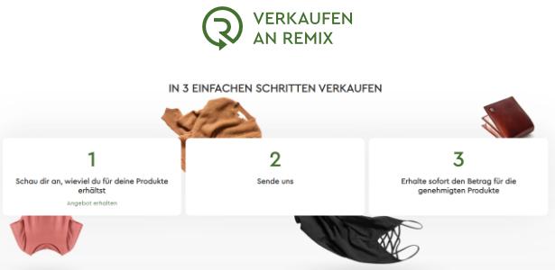 remix Verkauf