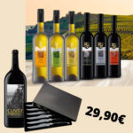 🍷 7 Flaschen Wein + 6 Steakmesser für 34,85€ (statt 124€)