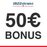 💵 1822direkt: 50€ Gehaltsprämie für das Girokonto Klassik + bis zu 100€ für Weiterempfehlung