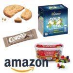 Amazon Lebensmittel Aktion: Nimm 5, zahl 4 - z.B. Meßmer Cold Tea, Nescafé, Corny Free Schoko uvm.